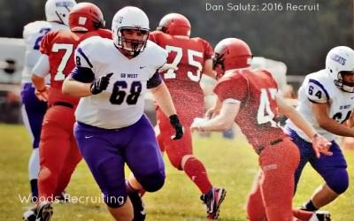 Dan Salutz, High School Football Recruit 2016