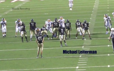 Michael Leiterman: High School Football Recruit 2016