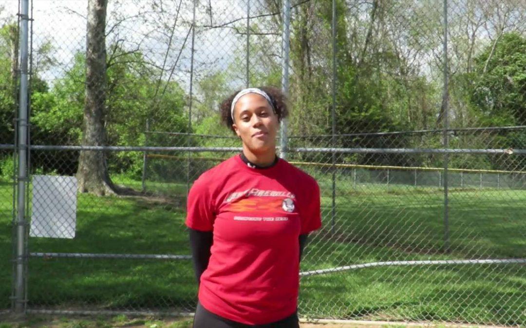 Brianna White High School Softball Star Recruit