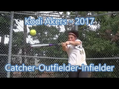 Kodi Akers High School Softball Star Recruit