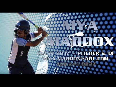 Mya Maddox High School Softball Star Recruit