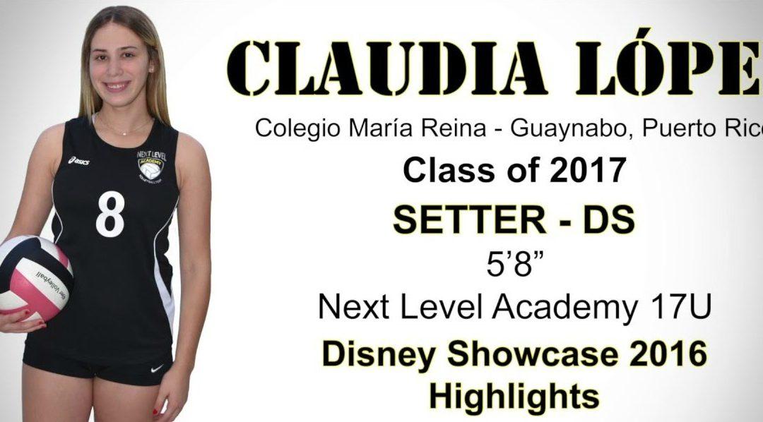 Claudia Lopez High School Volleyball Recruit