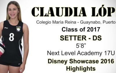 Claudia Lopez High School Volleyball Recruit