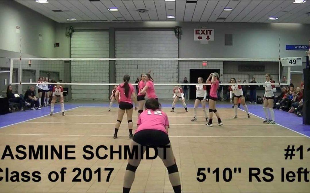 Jasmine Schmidt High School Volleyball Recruit