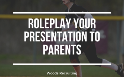 Roleplay Your Presentation To Parents