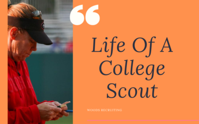 Life Of A College Scout