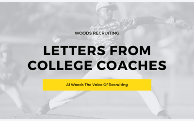 Letters From College Coaches