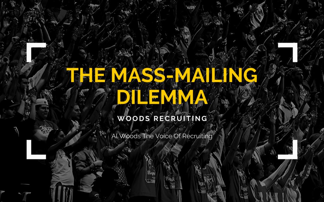 The Mass-Mailing Dilemma
