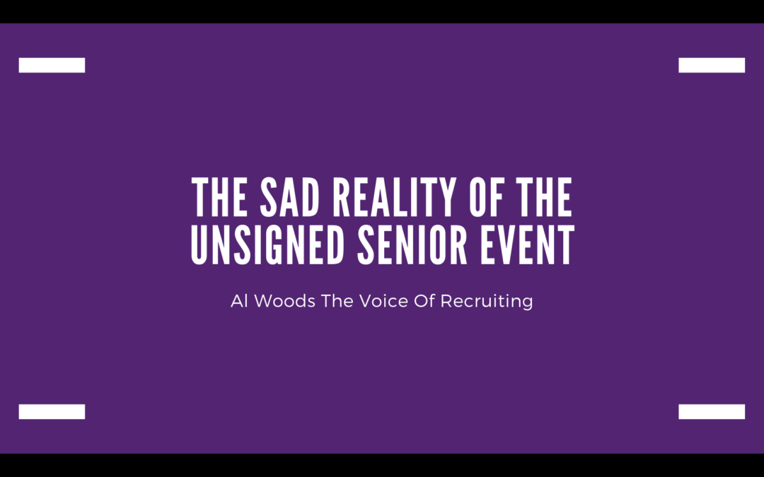 The Sad Reality Of The Unsigned Senior Event