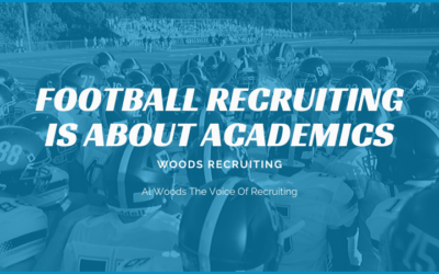 Football Recruiting Is About Academics