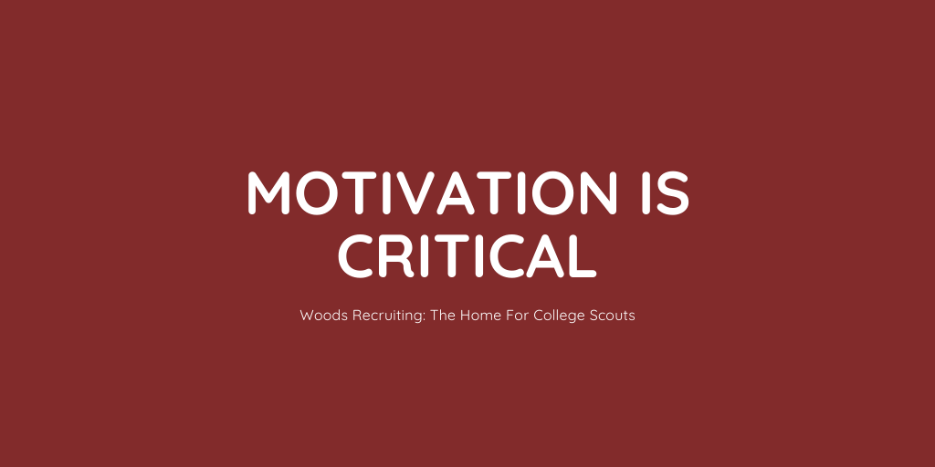 Motivation Is Critical
