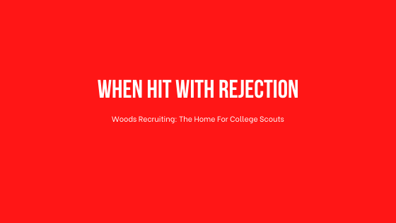 When Hit With Rejection