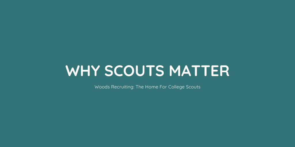 Why Scouts Matter