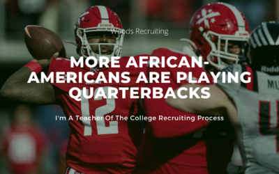 More African-Americans Are Playing Quarterbacks